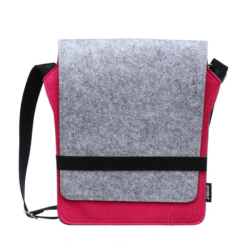 2087 Women Messenger Bags Satchels Shoulder Cross Body Bag Adjustable Shoulder Strap for iPad and Book Storing