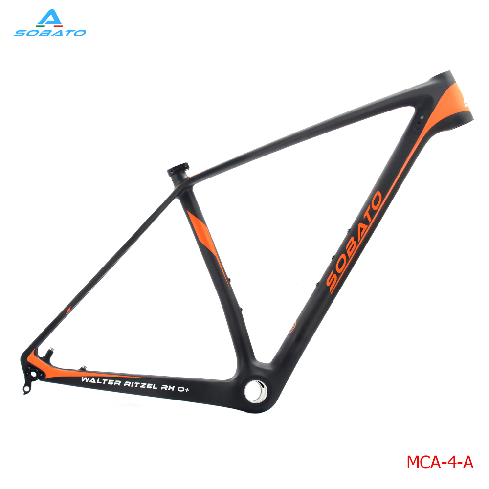 Full Carbon UD Matt Mountain MTB Bike MTB 29ER Cycling BSA Frame 17in stock Toray Carbon MTB Frame 29 2016 цена