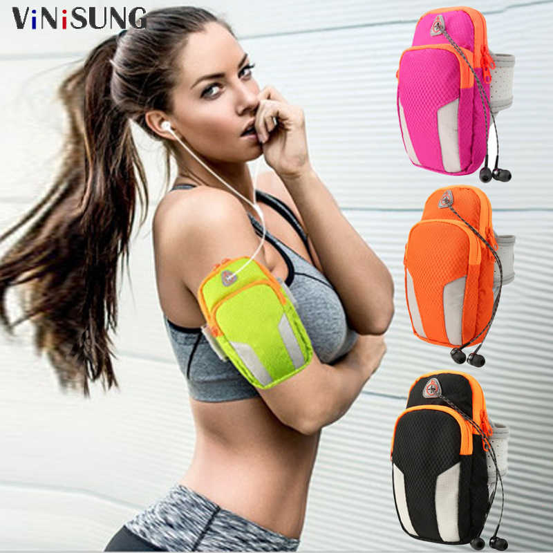 Waterproof Sports Running Brassard Armband Bag Case Mobile Phone Armband Bag Holder Outdoor Sport Phone Arm pou