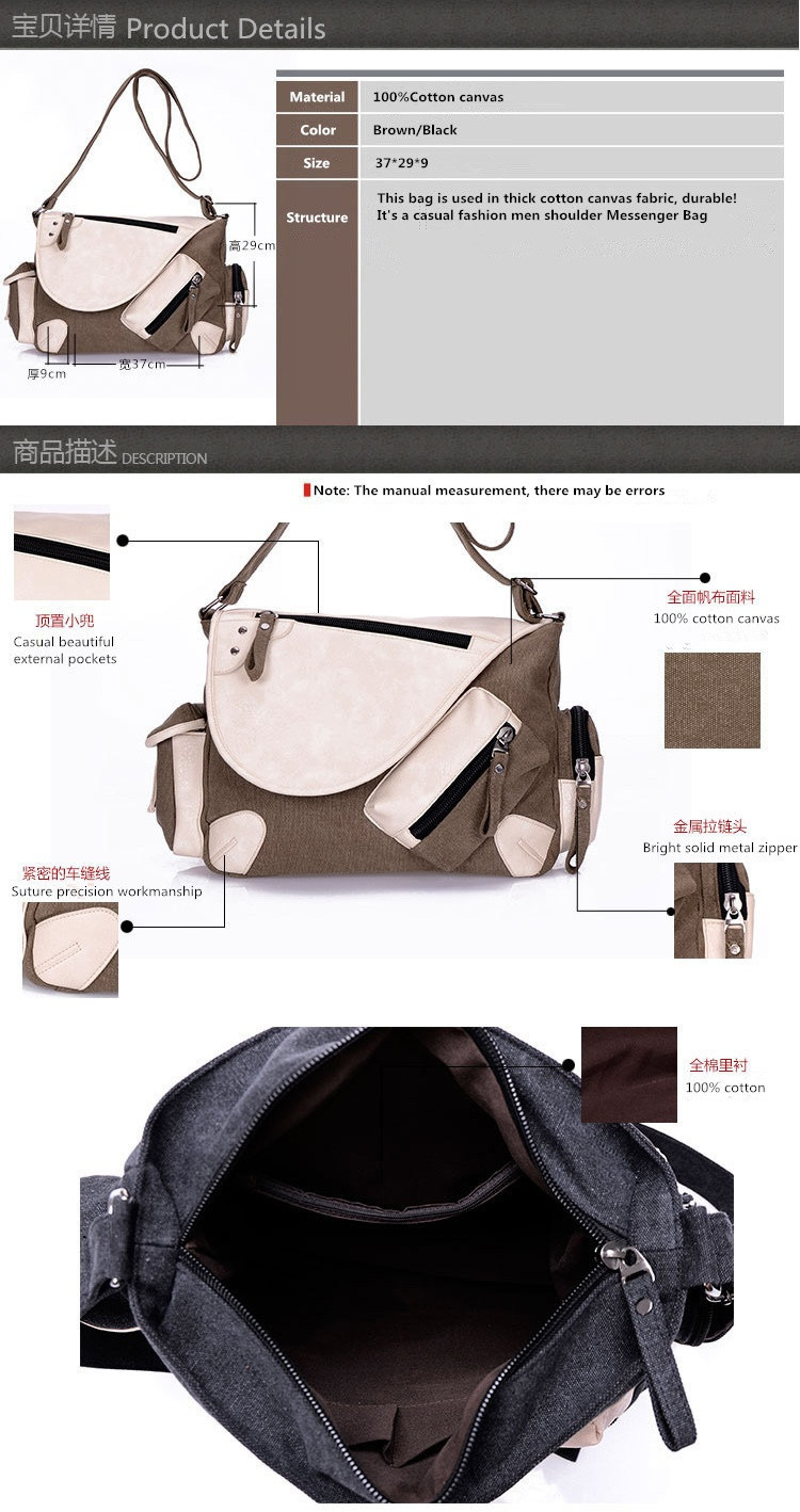 d54853e75031 2015 Korean Fashion Canvas Sports Messenger Bag Over Shoulder Bags For Men  Messenger Bags Man Crossbody Bag Small Bolso Hombre