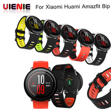 22mm Replacement Silicone Sports Strap Band For xiaomi huami amazfit bip pace lite belt band Rubber for Samsung Gear S3