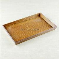 legno bandeja rustico antico vintage stile decorativo vassoi rettangolo di legno organizer da sposa tray24x16cm shiping libero