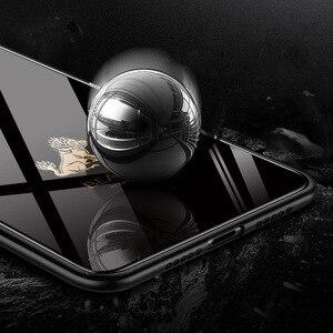 Image 4 - Etui na telefon ze szkła hartowanego dla Xiao mi czerwony mi uwaga 7 Pro Xiao mi mi 8 mi 8 Lite mi x 2 2s mi x 3 etui luksusowe Aixuan okładka