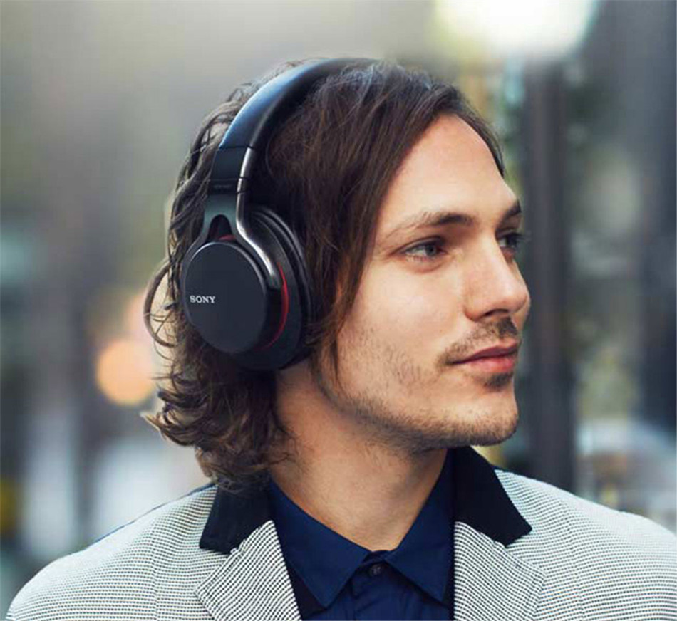 MDR-1ABT touch High-quality wireless Stereo headset Black sony mdr 1abt bm