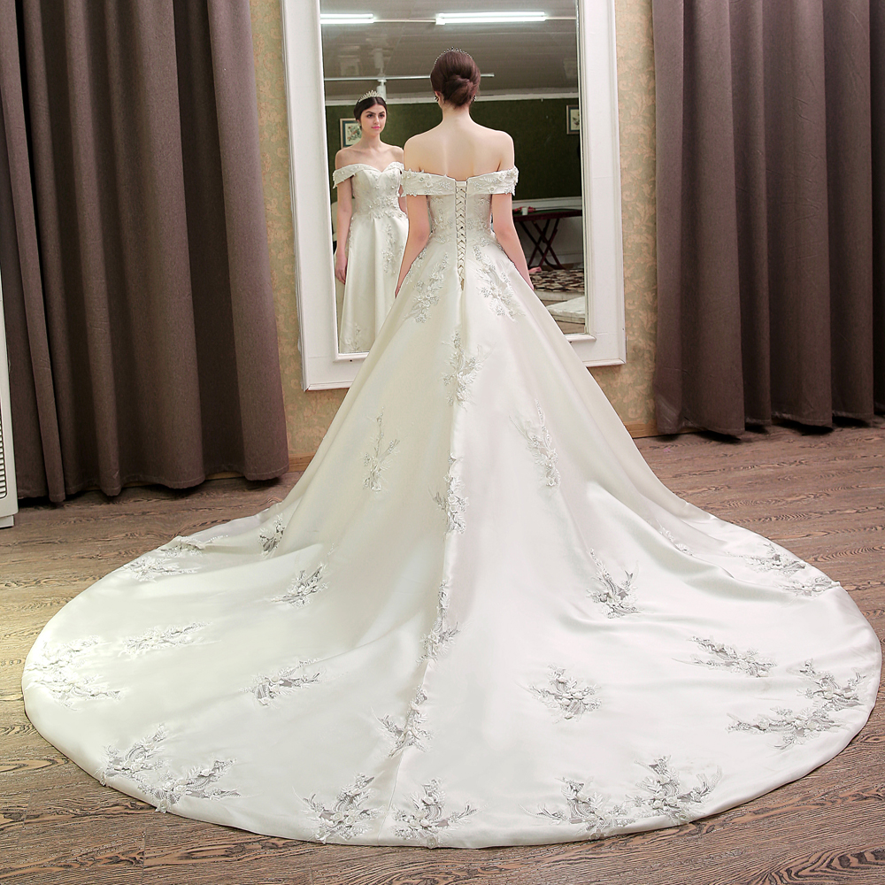 Designer Wedding Gowns with Bling