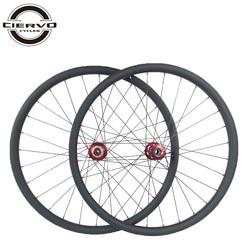 27.5er MTB XC lefty 2 węgla koła rowerowe SUPER lekki 25mm x 30mm z przodu 83mm z tyłu 135mm 142mm 24 H 28 H 32 H UD 3 K 12 K 650B lewe koła w Koła roweru od Sport i rozrywka na