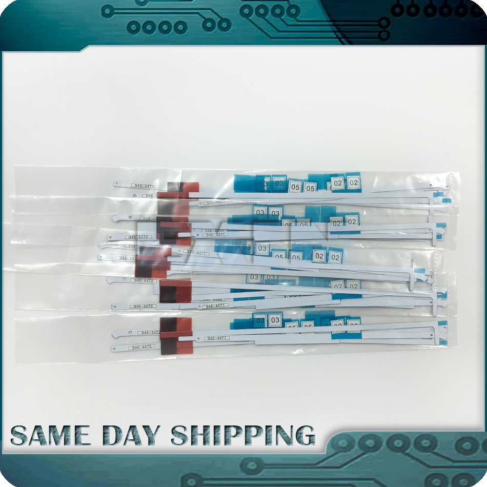 20Sets/Lot Original New A1418 LCD Adhesive Tape Strip for iMac 21.5'' A1418 LCD Adhesive Glue Tape 2012 2013 2014 2015 2017 Year 5 pieces new lcd led lvds screen cable 923 0281 for imac 21 5 a1418 late 2012 early 2013 display 2k