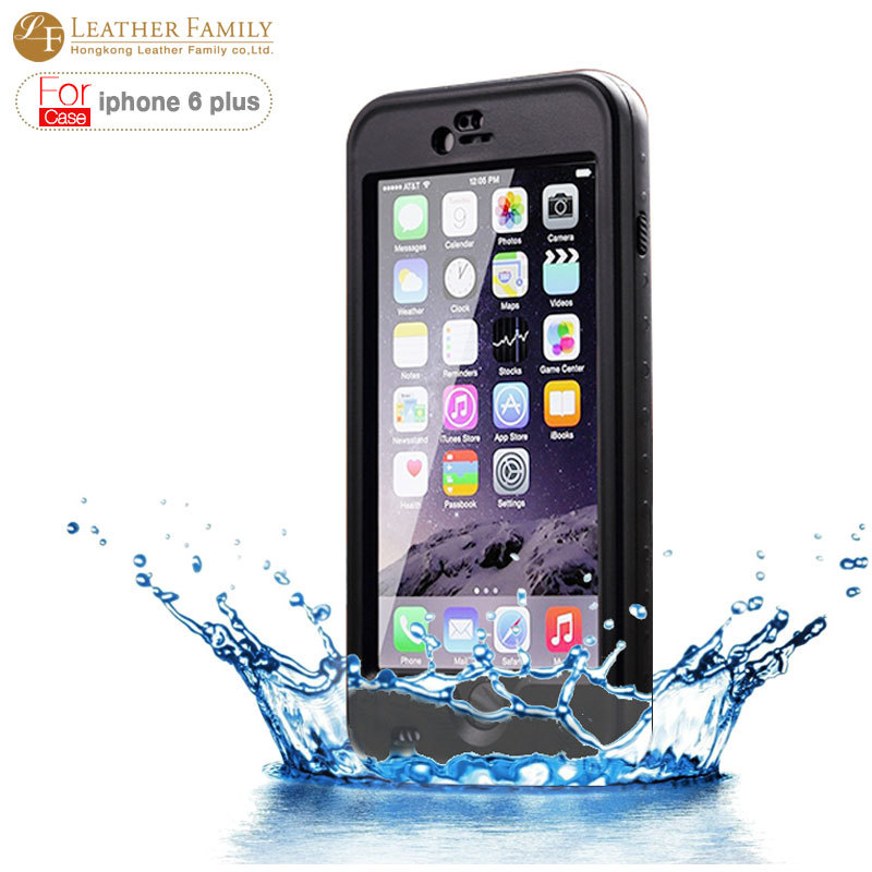 For iphone 6S plus Case IP68 life water shock proof waterproof Cover with Fingerprint for iphone