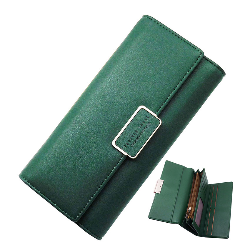New Fashion Women Clutch Bags Leather Wallets Brand Casual Female Card Holder Wallet Coin Pruse PU Leather Wallets