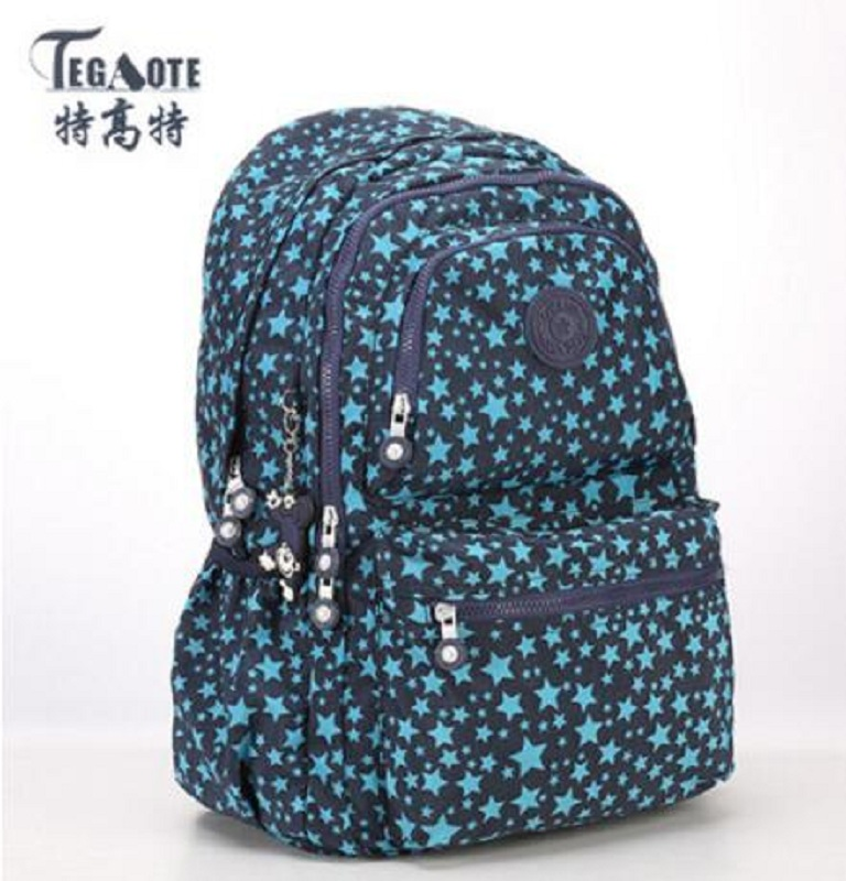 TEGAOTE Backpack Women Fashion School Backpacks for Teenage Girls Mochila Feminina Escolar Bolsa Travel Bagpack Female Sac A Do school backpack for teenage girl mochila feminina women backpacks nylon waterproof casual laptop bagpack female sac a do