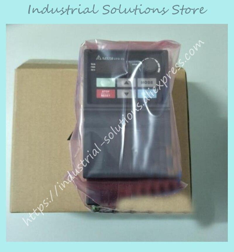 Entrada AC 3ph 1ph 220 V AC Inversor Série VFD015EL21A 1.5KW 7.5A 0 ~ 240 V 0.1 ~ 600Hz 1 2HP Original Novo um ano de garantia