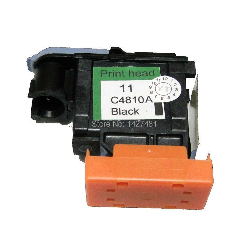 YOTAT Pour HP 11 HP11 Tête D'impression C4810A Buse Pour HP Designjet 510 800 500 Traceurs Imprimante Tête (Noir Impression tête)