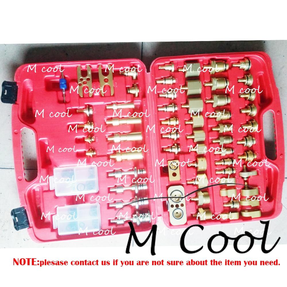 Outils de réparation de compresseur A/C de voiture tout neuf de haute qualité un ensemble d'outils de réparation de compresseur de climatiseur automatique