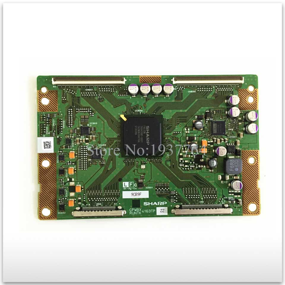 95% new good working High-quality original board 4163TP CPWBX RUNTK CPWBX4163TP ZZ T-con logic board 4353tp cpwbx runtk za zb zc zd ze zz lcd board logic board cpwbx4353tp runtk4353tp pls confrim z you need connector nocable
