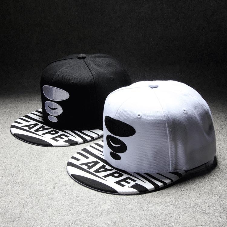 Wholesale AAPE snapback caps baseball cap hip hop gorras summer hat  casquette 3 colors 3C336 f31c7c309b8