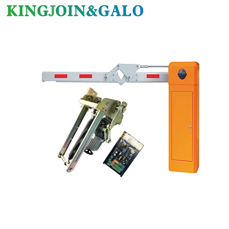 High quality machinery Barrier Gate straight boom traffic barrier for parking system      - title=