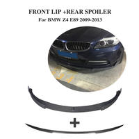 Carbon fibre Front lip Chin Rear Boot Duck Spoiler For BMW E89 Z4 2009 2013 2PCS/Set