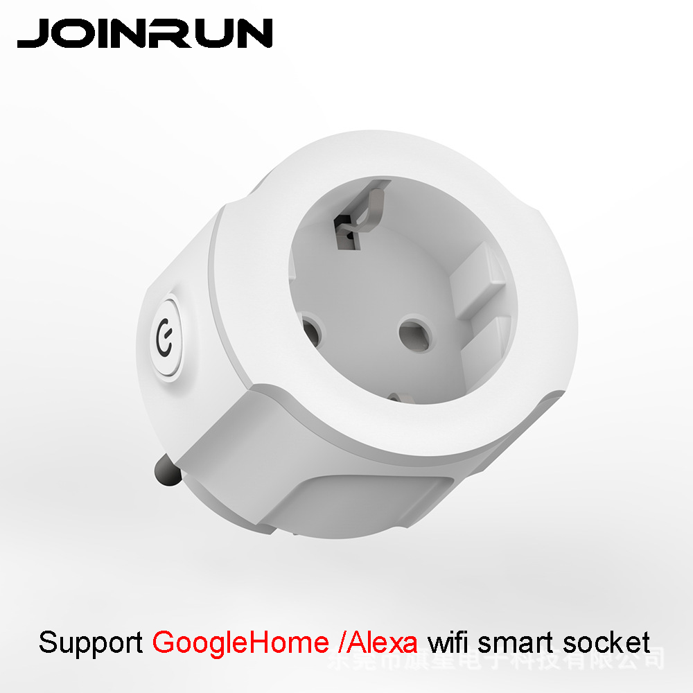 Joinrun Smart Socket WiFi Plug Switch Socket Wireless APP Remote Control Timer Power EU Plug Support Alexa / GoogleHome xenon wireless wifi socket app remote control smart wifi power plug timer switch wall plug home appliance automation eu style