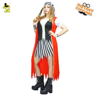 Adult's Renaissance Wench Pirate Costume Halloween Fancy Dress Costumes For Cosplay