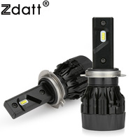 Zdatt Headlight Bulbs H4 H7 H11 H1 9005 9006 HB3 HB4 H8 H9 LED 12V Car