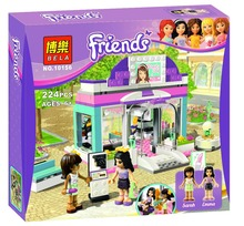 Bela 10156 Friends Beauty Salon Toys Gift Minifigures Building Block Minifigure Toys Best Toys