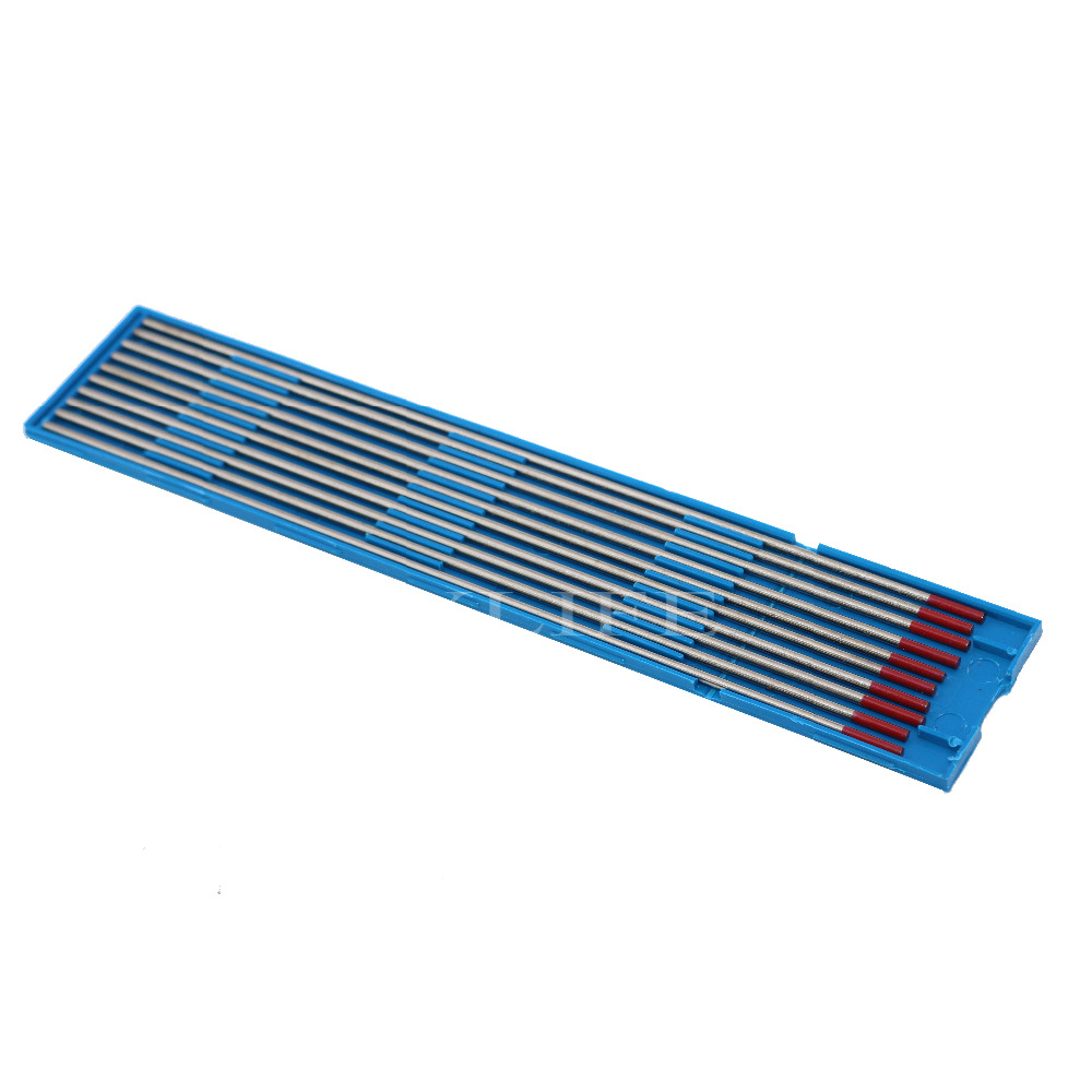 WT20 175mm X 2mm Red Tig Welding Tungsten Electrode With 2% Thoriated 10 Pieces