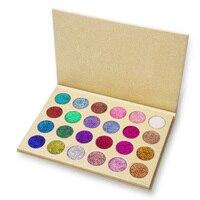 24 Colors Glitter Eyeshadow Palette Pressed Powder Rainbow Diamond Eye Shdow Makeup Pallete Naked Shimmer Smokey