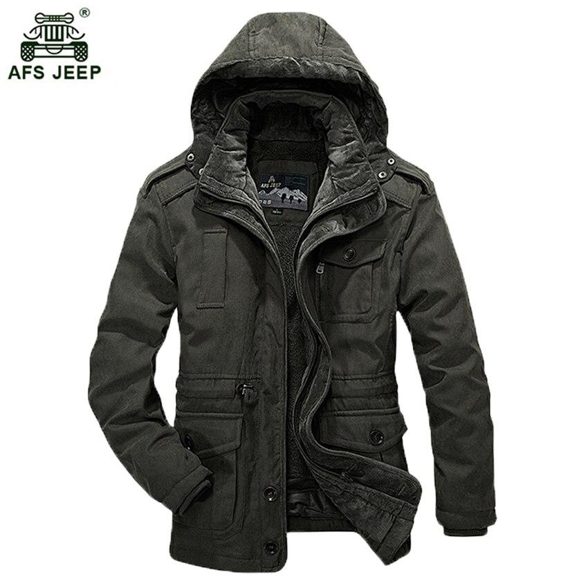 2017 nouvelle mode hiver veste hommes respirant chaud manteau Parkas épaississement décontracté coton-rembourré veste grande taille L-4XL 235wy