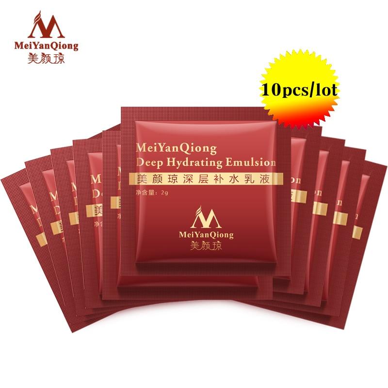 Meiyanqiong глубоко увлажняющий Эмульсия Гиалуроновая кислота увлажняет Уход за кожей лица крем Уход за кожей Отбеливание anti Уинклс Лифт укрепляющий Красота