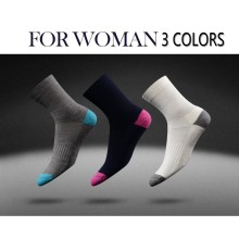 Fancyteck 3 pairs Socks For Men Woman Soft Winter Warm Breathable Thickening Socks