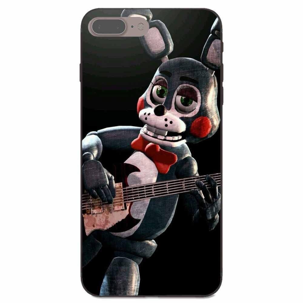 Sfm Fnaf Animatronics Black For Xiaomi Redmi Note 2 3 4 4A 4X 5 5A 6 6A  Plus Pro S2 Y2 Pattern Rubber TPU Soft Phone Cover Case