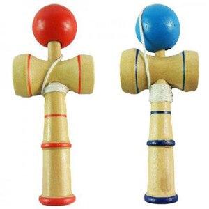 Image 1 - Hohe Qualität Kid Kendama Koordinieren Kugel Japanisches Traditionelles Hölzernes Spiel Geschicklichkeit Pädagogisches Spielzeug