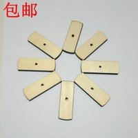 No 1 No 31 372pcs Lot Natural Wood Laser Cutting Calendar TAB Children Early Education Products