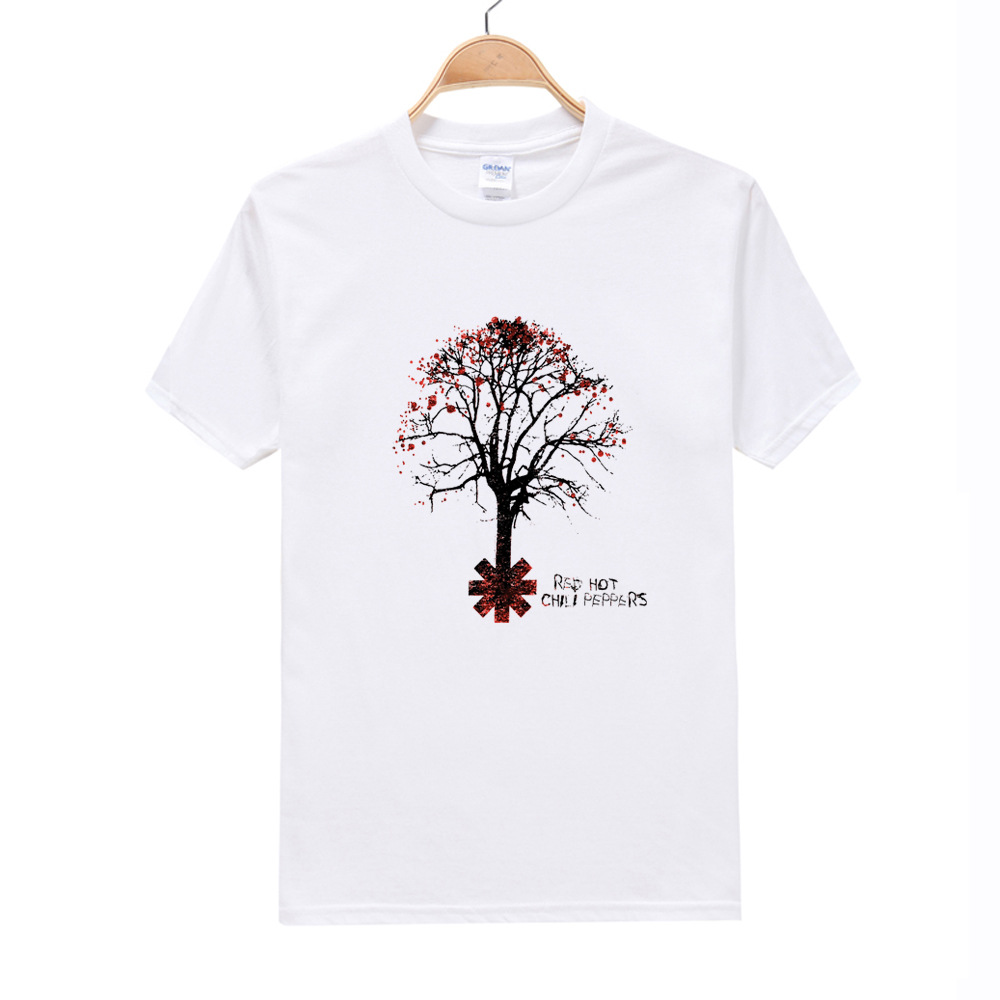 The last apple tree Men T-Shirt Fashion Art Printed Cool t shirt Men W Summer Short Sleeve Casual White Tops Hipster Tees