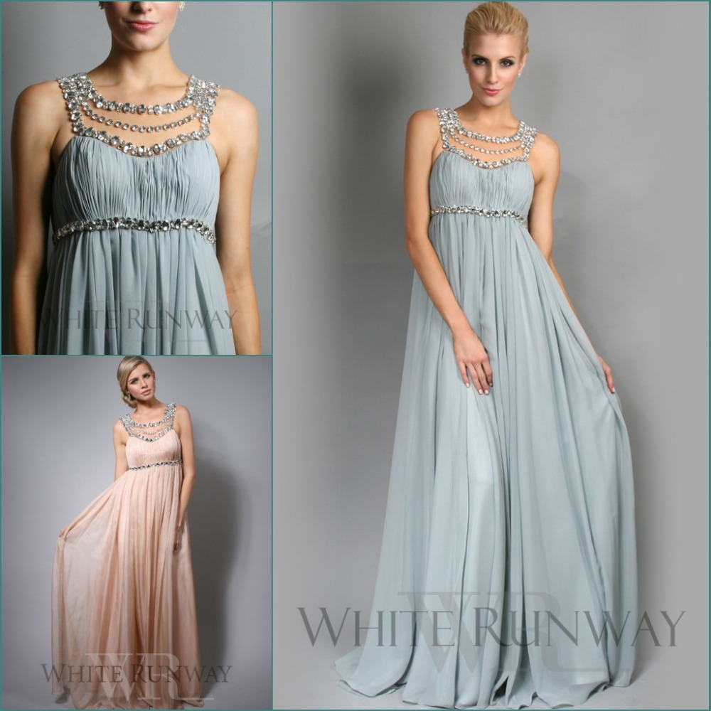 2015 jennifer lopez chiffon beach bridesmaid dresses scoop for Plus size maternity wedding dresses