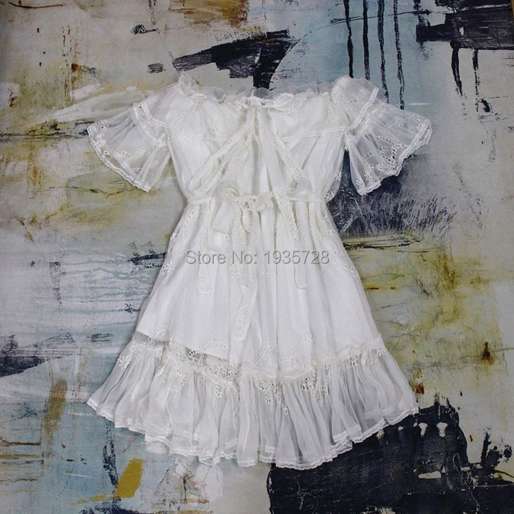 Avec Cordon femmes Volantée Arc Brodé Épaule Mini Ruches Prima Cravateamp; 2018 Silk Robe Nouveau Embroidered Ceinture Soie Hors MGSpUzVq