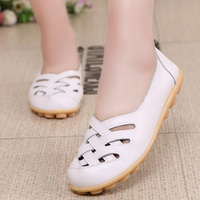 2016 Hot Women Flats New Ladies Shoes Fashion Solid Soft Loafers Summer Women Casual Flat Shoes