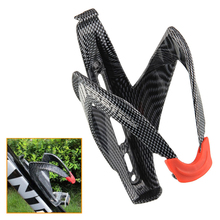 Lightweight Carbon Fiber Bicycle Water Bottle Cage MTB Road Bike Cycling Water Bottle Holder Holding Rack Cage Bike Accessories