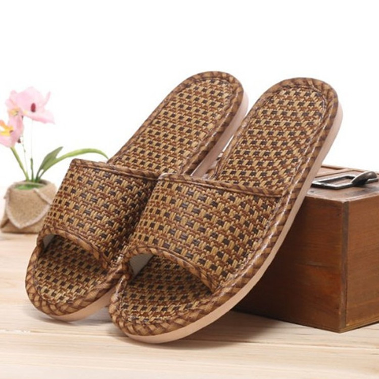 2018 Cane Summer Slipper Home Slippers Indoor Shoes Flax Slippers Non-Slip Bohemian Flip Flop Women Slippers 2017 hot sale women flip flop slippers female summer indoor anti slip slippers soft lightweight shoes size 36 40 available