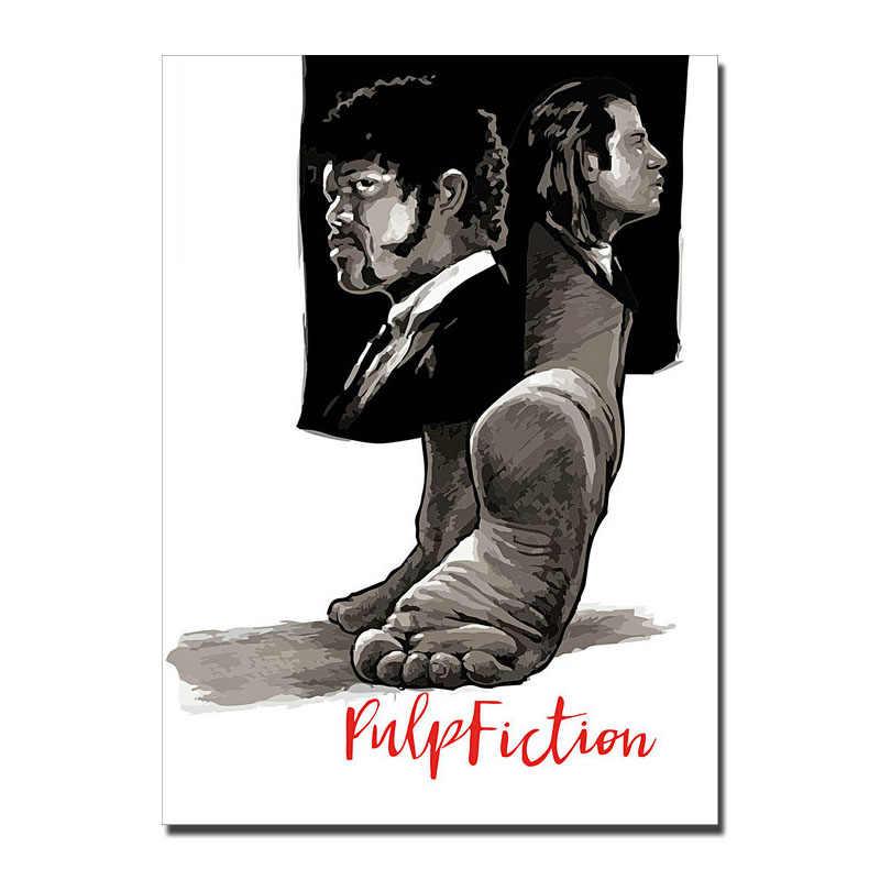 Pulp Fiction Movie Art Silk Canvas Wall Decorative Poster Print 24x32 inch 001