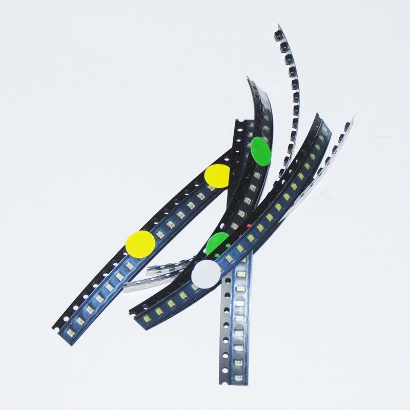 Blue Yellow White 0805 Smd Leds Blinking Flashing Led Diod 600pcs Flash 0805 Led Diode Mixed Orange Jade-green Red