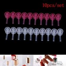 10 adet parfüm dolum araçları difüzör huni pompalı kozmetik dağıtıcısı taşınabilir yeni püskürtme dolum pompa şişesi dolum cihazı