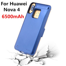 6500mAh External Battery Case Box Charger for Huawei's New Nova 4 Mobile Power Bank Battery Case Charging Box
