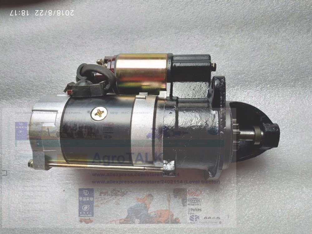 купить The starter motor QDJ3Q5A (24V, 4.5KW, 11 teeth) suitable for engine Yangdong Y4102Q, Y4105Q, part number: QD1332D по цене 6459.76 рублей