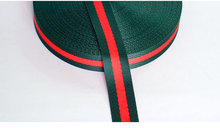 One roll about 45 meters/50 yards 1cm/2cm/3cm/4cm/5cm Striped Webbing Ribbon For Garment Bags Home Decoration Lace Christmas