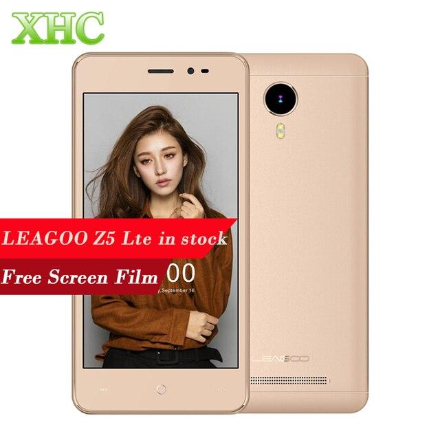 LEAGOO Z5 Lte 8GB FDD LTE 4G 5.0 inch Android 5.1 MTK6735WM Cortex A7 Quad Core 1.0GHz RAM 1GB 2300mAh Battery Mobile Phone