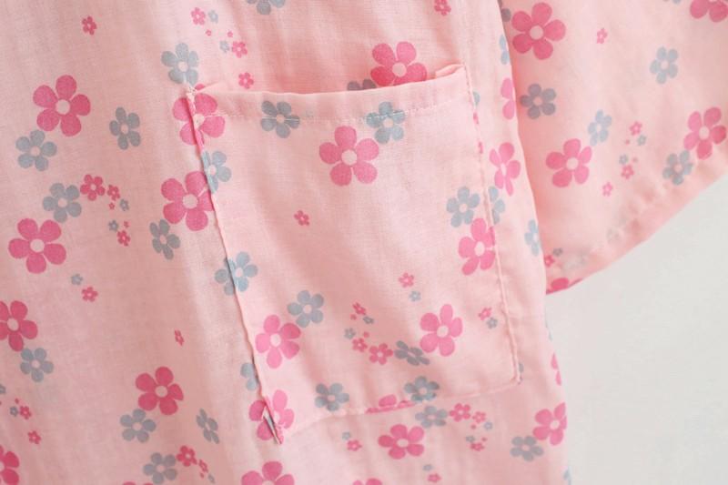 Japanese kimono pajamas