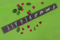 Guitar Accessories 1 pcs x 25.5electric Guitar Fretboard electric guita rose Wood Fretboard Parts 00 045# inlay