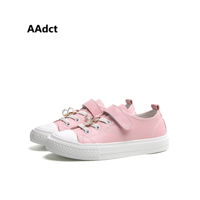 AAdct New Fashionable Rhinestone girls shoes Comfortable casual Children shoes for bots High quality sports kids shoes sneakers