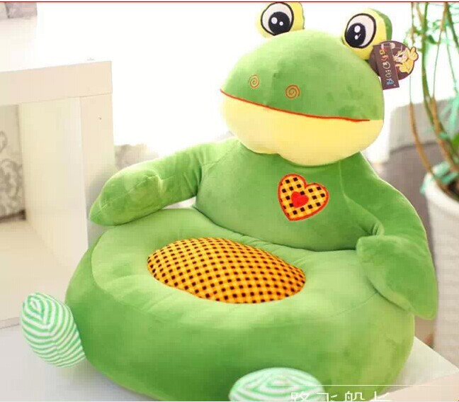 font b plush b font creative green children sofa toy lovely cartoon frogs sofa toy